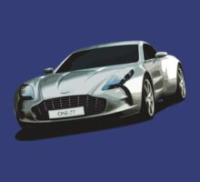 Aston Martin One-77 sports car by Neroli Henderson