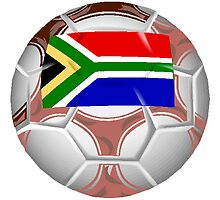 South Africa Soccer Ball by kwg2200