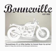 Triumph Bonneville, Zen and the Art of Motorcycle Maintenance by Bowie DS