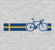 Bike Stripes Swedish National Road Race Kids Clothes