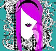 Emo Girl Graphic by thorstenschmitt