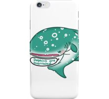 Angry whaleshark iPhone Case/Skin