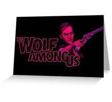The Wolf Among Us - Logo and Bloody Mary Greeting Card