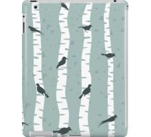 Bird on a birch iPad Case/Skin