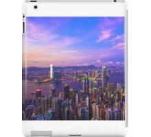Hong Kong sunset iPad Case/Skin