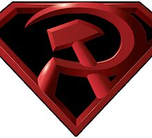 Superman - Red Son Logo by RockabillyAnt