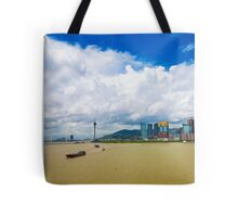 Macau cityscape Tote Bag