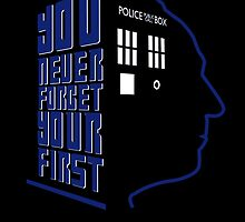 You Never Forget Your First - Doctor Who 1 William Hartnell by JadBean