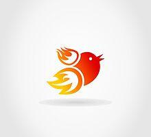 Fire a bird by Aleksander1