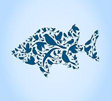 Fish a bird by Aleksander1
