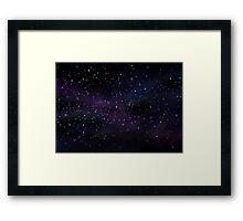 Stars Framed Print