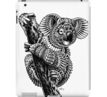 Ornate Koala iPad Case/Skin