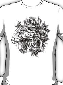 Ornate Leopard T-Shirt