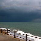 Full Rainbow across St Magrets Bay, Kent by John Gaffen