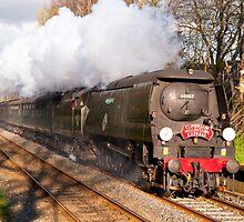 Battle of Britain class locomotive Tangmere by John Morris
