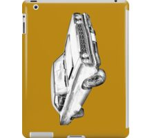 1968 Plymouth Roadrunner Muscle Car Illustration iPad Case/Skin