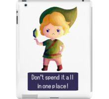 You Got ONE RUPEE! iPad Case/Skin