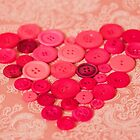 Button heart by Zoe Power