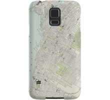 Vintage Map of Montreal (1901) Samsung Galaxy Case/Skin