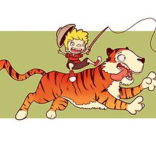 Calvin and Hobbes by augustolp