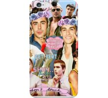 Dave Franco and Zac Efron Collage Edit iPhone Case/Skin
