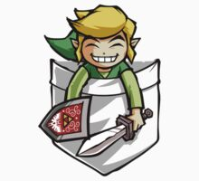 Happy Pocket Link Legend of Zelda T-shirt Kids Clothes
