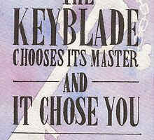The Keyblade by Jade Jones