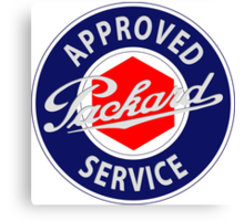 Packard Approved Service vintage sign Canvas Print