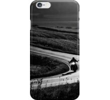 4.9.2014: Motorcycle on the Road iPhone Case/Skin