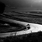 4.9.2014: Motorcycle on the Road by Petri Volanen
