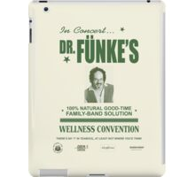 Dr. Fünke's 100% Natural Good-Time Family-Band Solution iPad Case/Skin