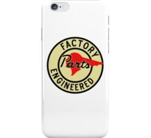 Pontiac Factory Parts vintage sign reproduction iPhone Case/Skin