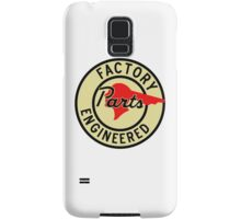 Pontiac Factory Parts vintage sign reproduction Samsung Galaxy Case/Skin