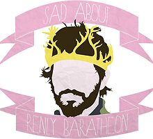 sad about renly baratheon by SavThompson