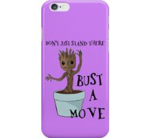 Bust a Move Baby Groot iPhone Case/Skin