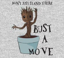Bust a Move Baby Groot Kids Clothes