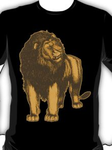 Lone Lion by Cheerful Madness!! T-Shirt