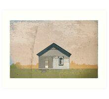 Frankfort Building Illustration Art Print