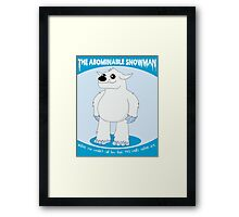 The Abominable Snowman  Framed Print