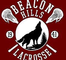 Beacon Hills Wolf Lacrosse by Samantha Lusher