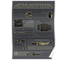 The Hunters Guide to Mystical Artifacts Poster
