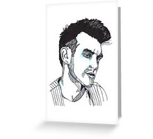 This Charming Man Greeting Card