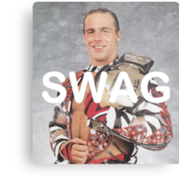 Shawn Michaels Swag Metal Print