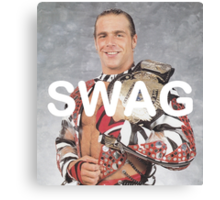 Shawn Michaels Swag Canvas Print