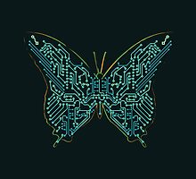 Mechanical Butterfly by Budi Satria Kwan