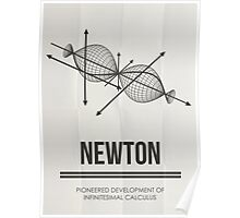 Newton - Mathematician Posters Poster