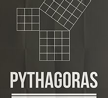 Pythagoras - Mathematician Posters by Hydrogene