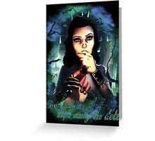 Bioshock Infinite Elizabeth Greeting Card