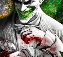 Batman Arkham City Joker Sticker