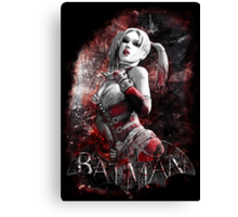 Batman Arkham City Harleyquinn Canvas Print